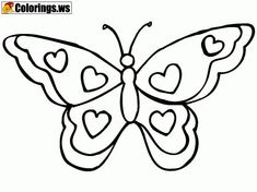 15 Best Butterfly Coloring Pages images | Butterfly coloring page ...