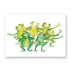 ´funny frogs´