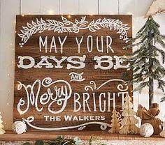 Christmas Mantel Decorations & Christmas Wall Decor | Pottery Barn Kids