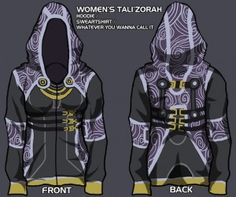 BioWare to Produce Christine Schotty's Awesome Mass Effect Character Hoodies