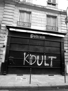 Kidult: the adult and the kid who survived