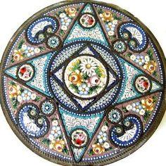 Micro Mosaic - Floral compact       #mosaic #design