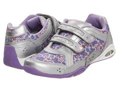 Stride Rite Jade Lighted (Toddler/Youth) Silver/Purple - Zappos.com Free Shipping BOTH Ways