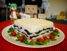 Sushi Cake from Sweetness and Lightning