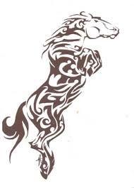 """Résultat de recherche d'images pour """"dessin de cheval"""""""
