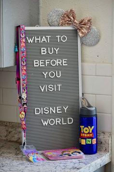 Disney World Packing List Cosas para comprar ANTES de visitar Disney World & Consejos de embalaje! The post Lista de embalaje de Disney World appeared first on Khanponap. Voyage Disney World, Viaje A Disney World, Disney World Tipps, Disney World Packing, Disney World Vacation Planning, Walt Disney World Vacations, Disney Planning, Disneyland Trip, Disney World Tips And Tricks