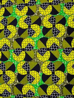 African Fabric Wax Print Super Woodin 6 Yards by Africanpremier