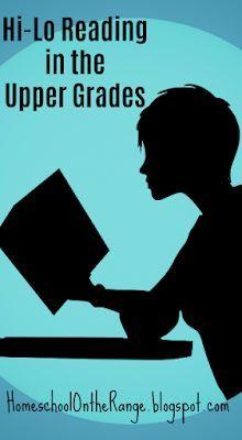 Hi-Lo Reading in the Upper Grades