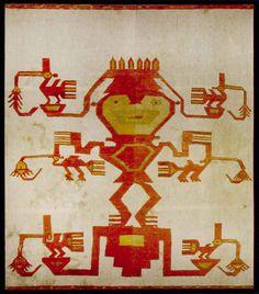 Museo Chileno de Arte Precolombino » Mural Brocado