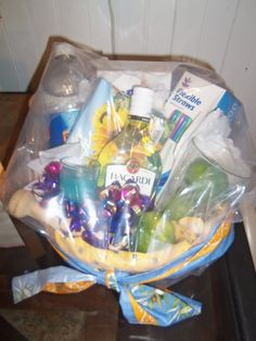 a k cup gift basket i made for my ideas