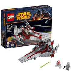 LEGO Star Wars 75039: V-Wing Starfighter: Amazon.co.uk: Toys & Games