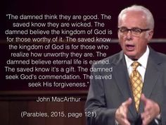 """""""The lost man is offended that God, who is good, will cast the wicked into hell, the unfallen angel cannot understand how God can remain good and allow sinners into heaven, the christian knows that God can be just and yet justify the wicked because God crushed Jesus Christ in his place, this kind of love constrains a man!!"""" ~Rick Brubaker"""