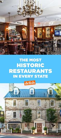 The Oldest Restaurant In Every State  - Delish.com