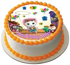 Sheriff Callie's Wild West Cast Edible Birthday Cake Topper OR Cupcake Topper, Decor