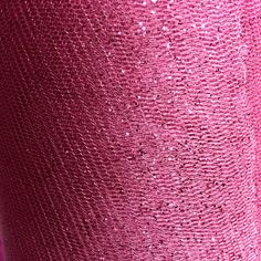 """Glitter Tulle in """"Candy Pink"""" $2.95/yd 58"""" wide #tulle #glittertulle #apparel #textilediscount"""