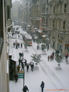 Istanbul in Winter -- Beyoglu Istanbul  Check out www.atdaa.com to learn more about Istanbul