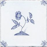 Blue Delft tile
