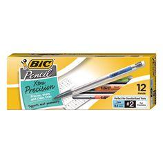 BIC MPF11 Mechanical Pencil Xtra Precision #MPF11 #BIC #TAAPencils  https://www.officecrave.com/bic-mpf11.html