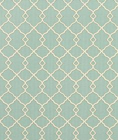 Waverly Chippendale Sun N Shade Fretwork Mineral fabric, cushion fabric