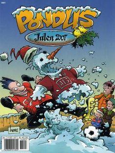 """""""Pondus Julehefte 2007 - Julens muntre bjeller klinger ..."""" av Frode Øverli Frosted Flakes, Comic Books, Comics, Art, Art Background, Kunst, Cartoons, Cartoons, Performing Arts"""