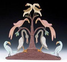 """CAROL ECKERT THE WISDOM OF SWANS Cotton, wire  12"""" x 13"""" x 2"""" Textile Sculpture, Swans, Basket, Wire, Textiles, Wisdom, Gallery, Artist, Cotton"""