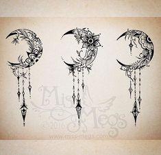 Crescent Moon – Tattoo – # Crescent Moon - diy tattoo images - Crescent Moon Tattoo # Crescent Moon Informations About Crescent Moon – - Mandala Tattoo Design, Mandala Arm Tattoo, Moon Tattoo Designs, Tattoo Design Drawings, Flower Tattoo Designs, Flower Tattoos, Moon Mandala, Geometric Mandala, Diy Tattoo