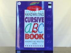 Handwriting Cursive ABC Book