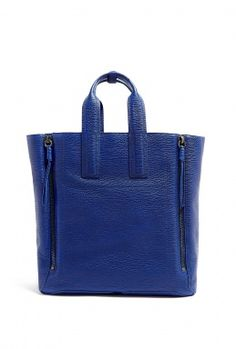 Shark Embossed Cow Pashli Tote by 3.1 Phillip Lim