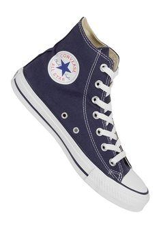 NAVY CONVERSE - Chuck Taylor All Star Hi navy #planetsports