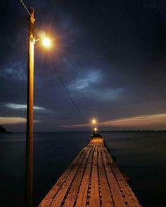 富浦 原岡海岸の桟橋