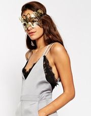 ASOS Filigree Butterfly Mask