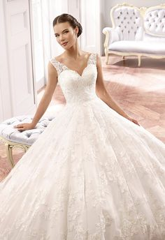 Eddy K Brautkleid 2015 MD159_close