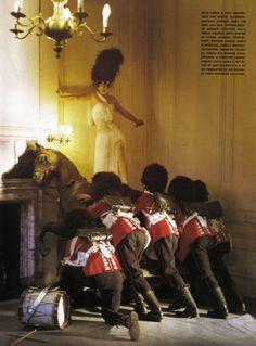 FashionED: Tim Walker / Malgosia Bela - Vogue Italia 2009