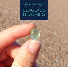 Bucket List Seaglass Beaches New York - Coopers Beach, Southampton Mile Hill Road & Main Beach West in East Hampton Great Peconic Bay, Hampton Bays Camp Hero, Montauk