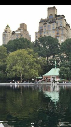 Central Park.NYC.-I sat on the benches outside that building and ate macaroons on my last trip :)
