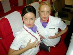 Join The Mile High Club With These Sexy Stewardesses Airline Attendant, Flight Attendant, Hot Air Hostess, Trolley Dolly, Virgin Atlantic, Intelligent Women, Girls Uniforms, Cabin Crew, Just Girl Things