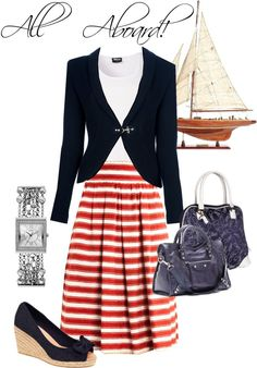"""""""All Aboard!"""" by lazell-hammons on Polyvore"""