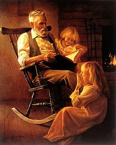 Bedtime Stories by Greg Olsen