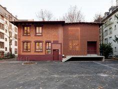 Huggenbergerfries Architekten - Kalkbreitestrasse office, Zurich 2012.