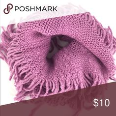 """SALE Infiniti Neck Warmer Stretchable infiniti neck warmer in lavender. 100% acrylic. 24"""" by 8"""". New in the package with no tags attached. Boutique Accessories Scarves & Wraps"""