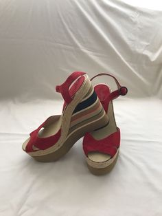 d0dd16873707 Andre Assous Wedge Heel Sandals Size 9  fashion  clothing  shoes   accessories  womensshoes  sandals  ad (ebay link)