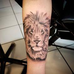 Lion I made today ! #tattoo #bostontattoo www.empiretattooinc.com