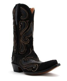 Lucchese Lyla Hair and Studs Boot