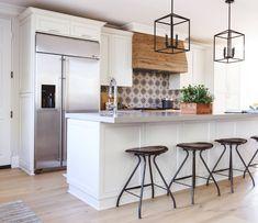 Spanish Modern Kitchen - Transitional - Kitchen - San Diego - by Savvy Interiors Kitchen Island Lighting, Kitchen Lighting Fixtures, Kitchen Pendant Lighting, Kitchen Pendants, Pendant Lights, Light Fixtures, Spanish Kitchen, Mediterranean Kitchen, Spanish Modern