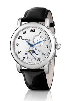 01ae97832a4  Montblanc Star Twin Moonphase Relógios Masculinos