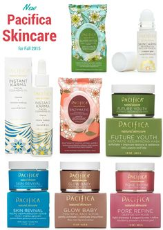 New Pacifica Skincare for Fall 2015
