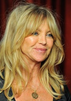 Goldie Hawn wearing my shma israel pendant! | The Official Ranking Of The 45 Hottest Jewish Women In Hollywood