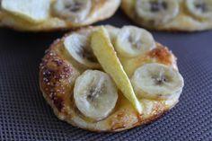 Tartelette pomme banane - http://www.tutocuisine.com/2014/06/tartelette-pomme-banane/