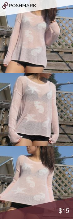 SWEATER CORAL KNIT HOLLISTER SWEATER Hollister Sweaters