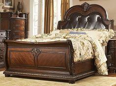 Monte Carlo Bedroom Queen Bed - Furniture.com $1,399.99